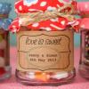 Wedding Favour Jar Stickers
