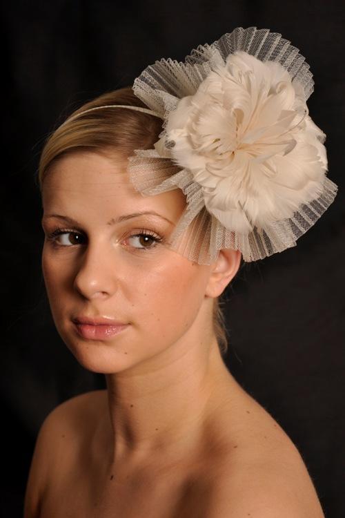 Agnes Bridal Fascinator