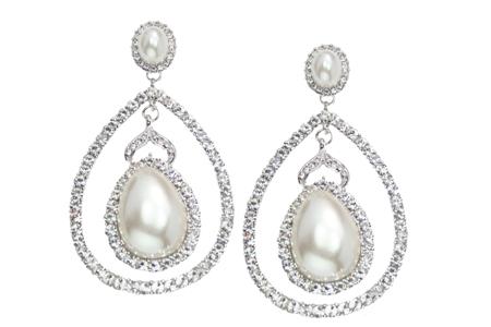 Sparkling Bridal Chandelier Earrings – Pearl Chandelier Bridal Earrings