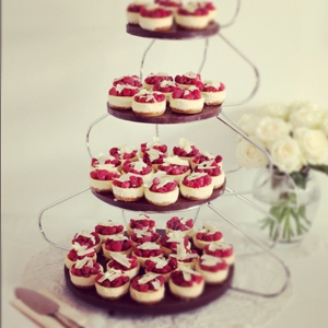 Raspberry & White Chocolate Cheesecake Minis