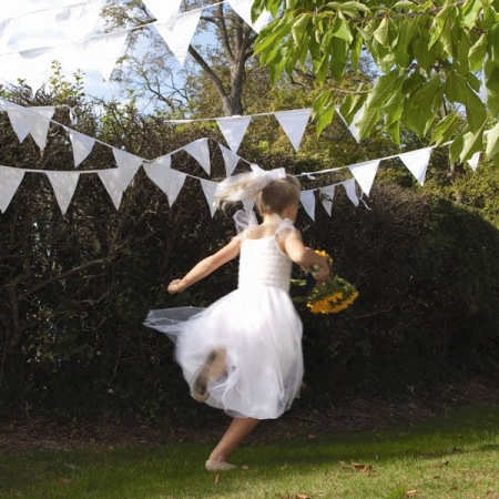 Wedding Bunting The Cotton Bunting Company