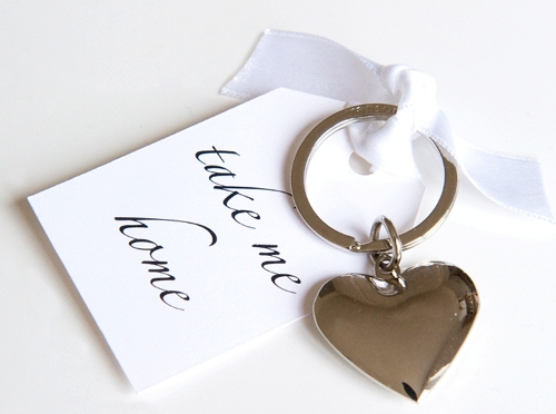 Practical wedding favours