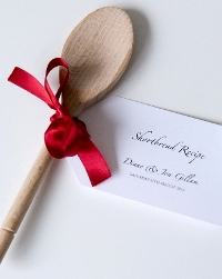 Wooden Spoon Wedding Favours