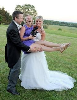 Personalised wedding video