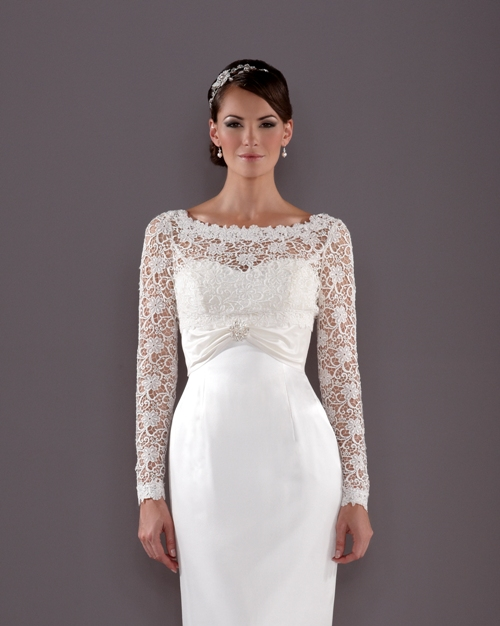 Bridal lace sleeves