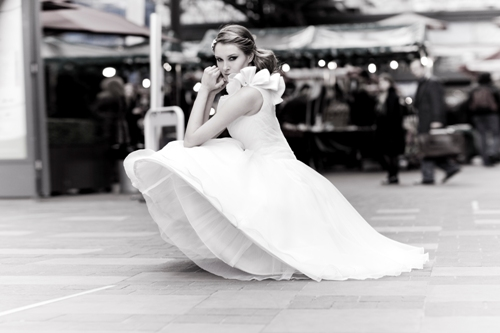 Bobbi Dazzler Vinatge Wedding Dress