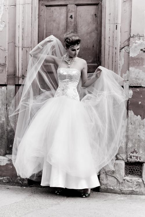 Cockney Rebel Vintage Wedding Dress