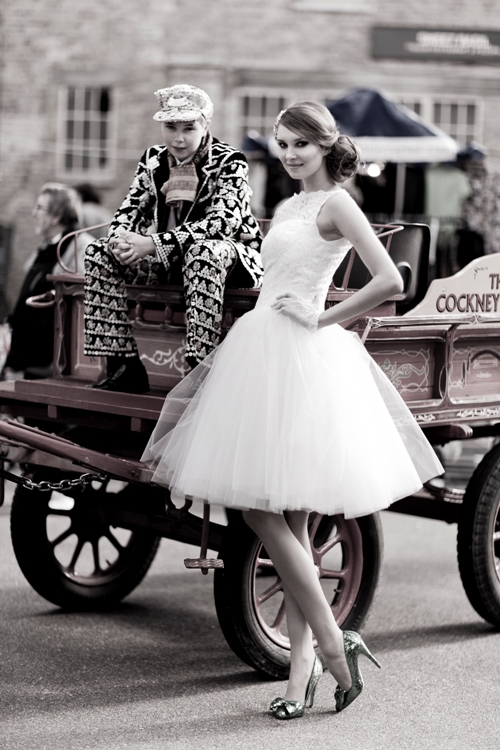 Pearly Queen Vintage Wedding Dress