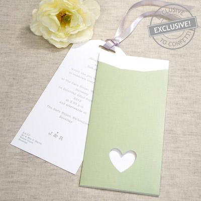 Wedding Invitation Confetti