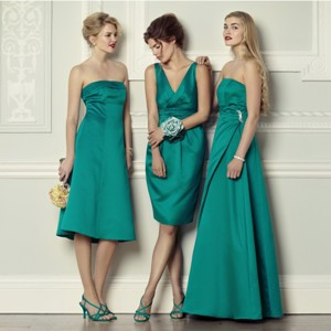 Jade Bridesmaids Dresses