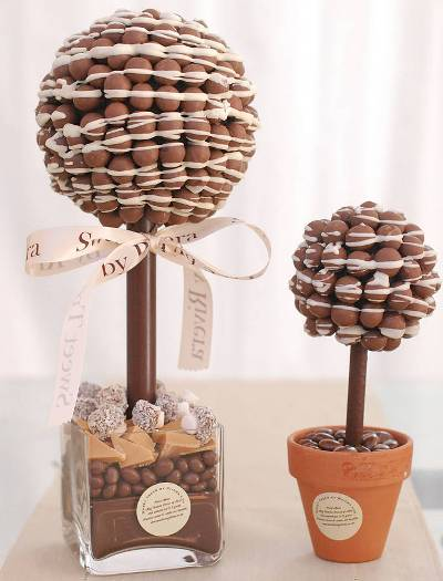 Sweet Tree wedding centrepiece malteaser