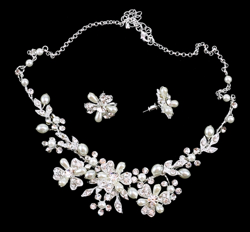 Amanda Bridal Necklace Set Bridal Jewellery