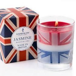 Union Jack Candle