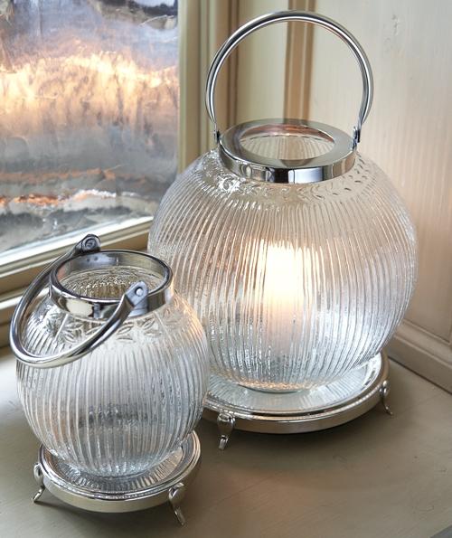 Vintage Style Glass Wedding Lanterns