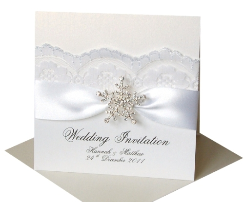 Made with Love Winter Wedding Stationery