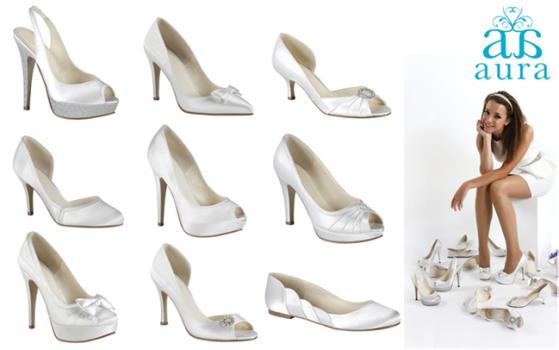 Aura collection bridal shoes Pink Paradox