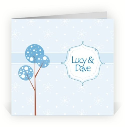 Planet Cards Winter Wedding Stationery