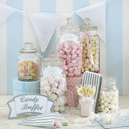 Wedding candy buffet kit