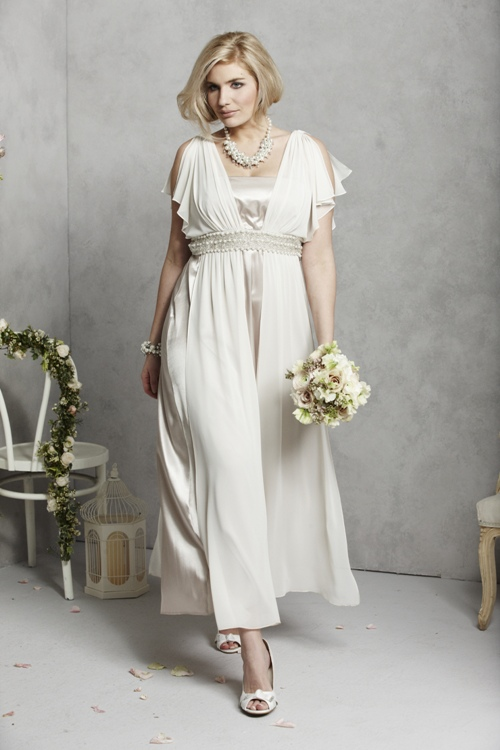 Isabella Plus Size Wedding Dress Simply Be