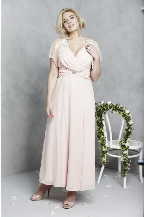Evelyn Plus Size Wedding Dress Simply Be